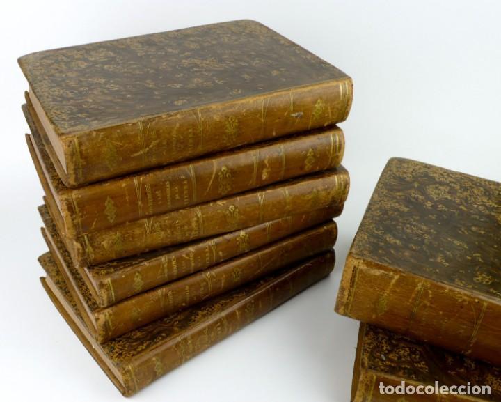 Libros antiguos: Dr.D.Manuel Ortiz de la Vega-Los Héroes y las Grandezas de la Tierra,Historia Universal 8 Tomos,1854 - Foto 8 - 146098206