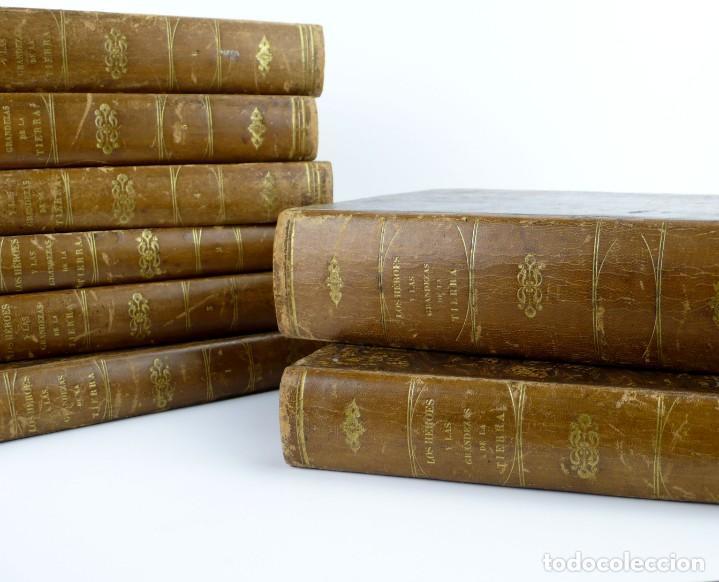 Libros antiguos: Dr.D.Manuel Ortiz de la Vega-Los Héroes y las Grandezas de la Tierra,Historia Universal 8 Tomos,1854 - Foto 9 - 146098206