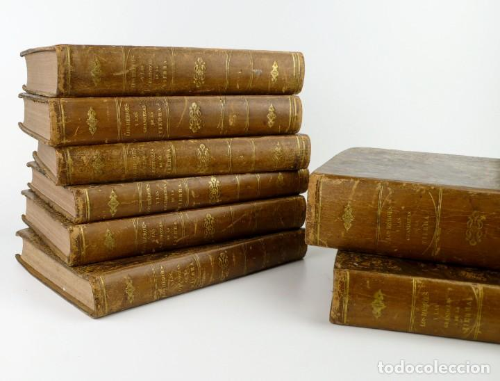 Libros antiguos: Dr.D.Manuel Ortiz de la Vega-Los Héroes y las Grandezas de la Tierra,Historia Universal 8 Tomos,1854 - Foto 10 - 146098206