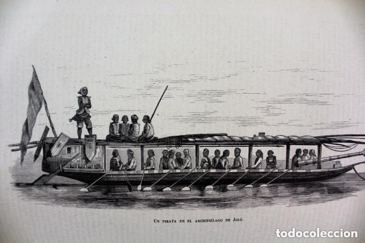 Libros antiguos: Dr.D.Manuel Ortiz de la Vega-Los Héroes y las Grandezas de la Tierra,Historia Universal 8 Tomos,1854 - Foto 16 - 146098206