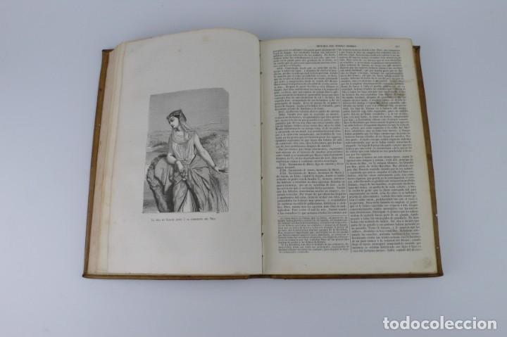 Libros antiguos: Dr.D.Manuel Ortiz de la Vega-Los Héroes y las Grandezas de la Tierra,Historia Universal 8 Tomos,1854 - Foto 24 - 146098206
