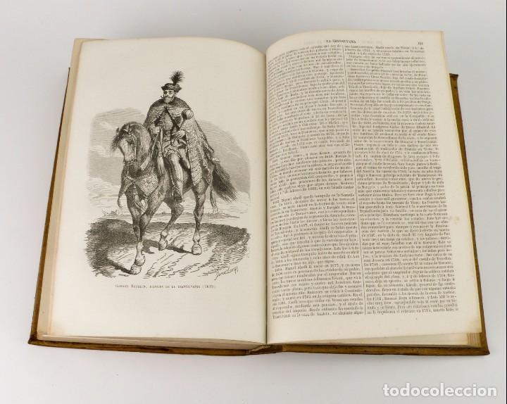 Libros antiguos: Dr.D.Manuel Ortiz de la Vega-Los Héroes y las Grandezas de la Tierra,Historia Universal 8 Tomos,1854 - Foto 28 - 146098206