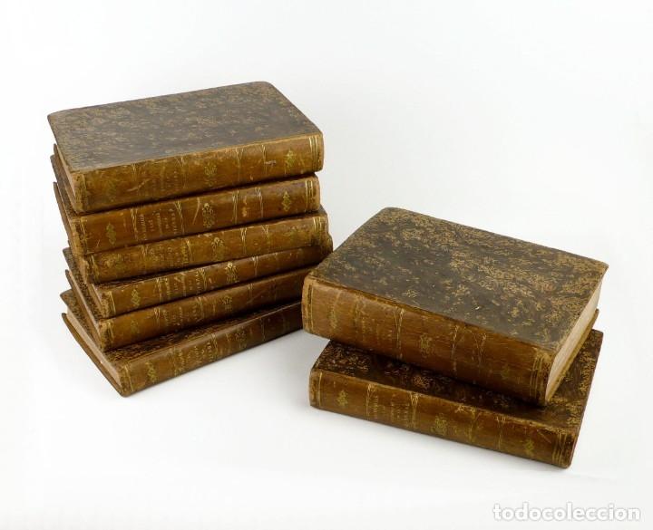 DR.D.MANUEL ORTIZ DE LA VEGA-LOS HÉROES Y LAS GRANDEZAS DE LA TIERRA,HISTORIA UNIVERSAL 8 TOMOS,1854 (Libros antiguos (hasta 1936), raros y curiosos - Historia Antigua)