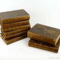 Libros antiguos: DR.D.MANUEL ORTIZ DE LA VEGA-LOS HÉROES Y LAS GRANDEZAS DE LA TIERRA,HISTORIA UNIVERSAL 8 TOMOS,1854. Lote 146098206