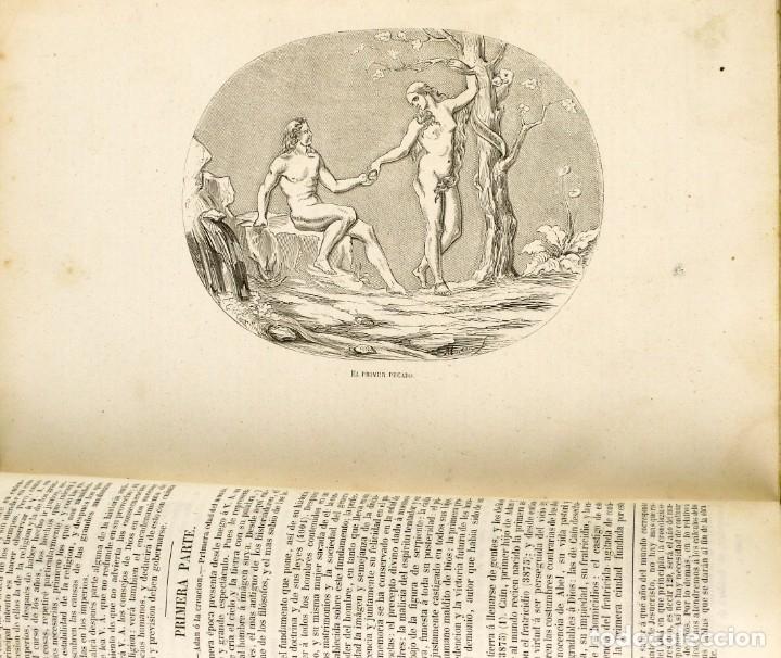 Libros antiguos: Dr.D.Manuel Ortiz de la Vega-Los Héroes y las Grandezas de la Tierra,Historia Universal 8 Tomos,1854 - Foto 23 - 146098206