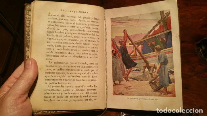 Libros antiguos: ARQUIMEDES, COLECCION LOS GRANDES HECHOS DE LOS GRANDES HOMBRES. 1930 EDITORIAL ARALUCE - Foto 7 - 146194254