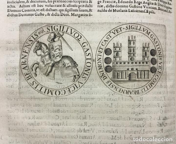 Libros antiguos: HISTOIRE DE BEARN, contenant lorigine des rois de Navarre. MARCA, Pierre de. París, 1640. - Foto 5 - 146497178