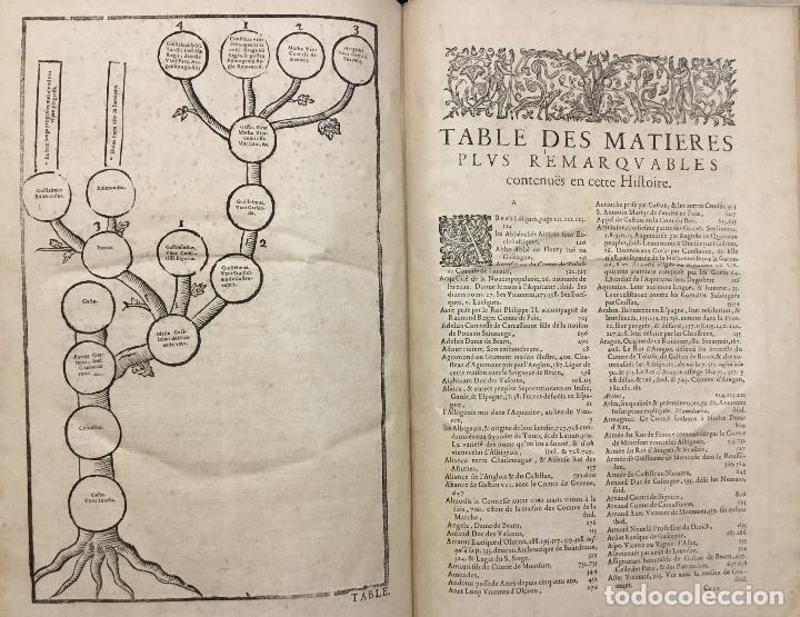 Libros antiguos: HISTOIRE DE BEARN, contenant lorigine des rois de Navarre. MARCA, Pierre de. París, 1640. - Foto 6 - 146497178