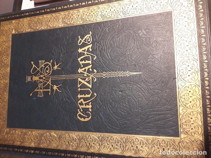 HISTORIA DE LAS CRUZADAS MONTANER Y SIMON 1886 2 TOMOS GRABADOS GUSTAVO DORE PERFECTO (Libros antiguos (hasta 1936), raros y curiosos - Historia Antigua)
