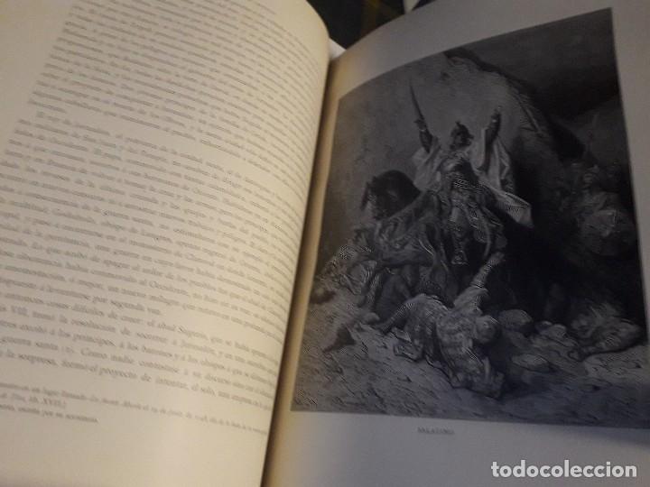 Libros antiguos: HISTORIA DE LAS CRUZADAS MONTANER Y SIMON 1886 2 TOMOS GRABADOS GUSTAVO DORE PERFECTO - Foto 3 - 146750290