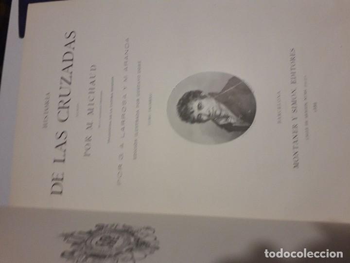 Libros antiguos: HISTORIA DE LAS CRUZADAS MONTANER Y SIMON 1886 2 TOMOS GRABADOS GUSTAVO DORE PERFECTO - Foto 5 - 146750290