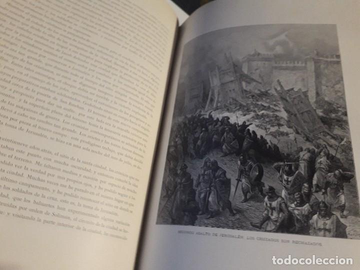 Libros antiguos: HISTORIA DE LAS CRUZADAS MONTANER Y SIMON 1886 2 TOMOS GRABADOS GUSTAVO DORE PERFECTO - Foto 6 - 146750290