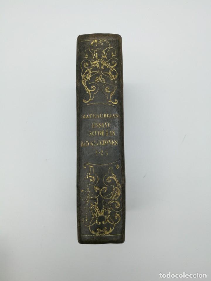 HISTÒRIA DE LAS REVOLUCIÓN 1847 3 TRES PARTES MISMO TOMO (Libros antiguos (hasta 1936), raros y curiosos - Historia Antigua)