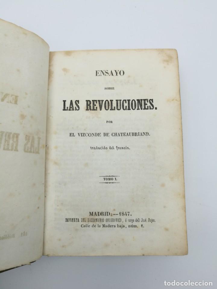 Libros antiguos: Història de las revolución 1847 3 tres partes mismo tomo - Foto 2 - 146858786
