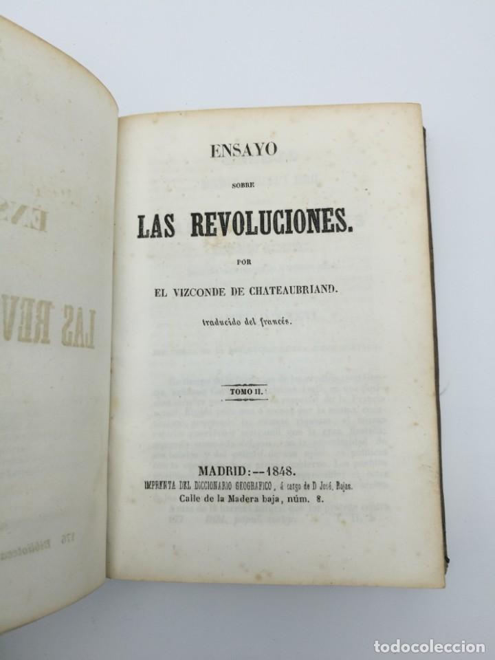 Libros antiguos: Història de las revolución 1847 3 tres partes mismo tomo - Foto 3 - 146858786