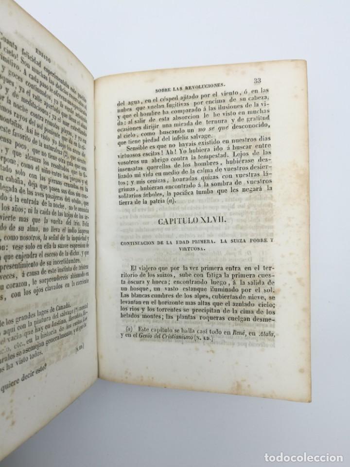Libros antiguos: Història de las revolución 1847 3 tres partes mismo tomo - Foto 6 - 146858786