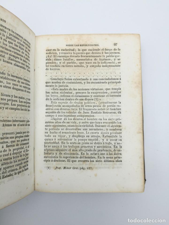 Libros antiguos: Història de las revolución 1847 3 tres partes mismo tomo - Foto 7 - 146858786
