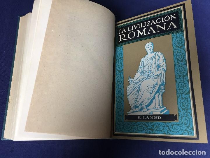 Libros antiguos: CIVILIZACIÓN DEL ORIENTE ANTIGUO 3 TOMOS EN 1 Oriente Griega Romana J Hunger H Lamer - Foto 4 - 146862558
