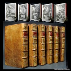 Libros antiguos: AÑO 1710 TITI LIVII HISTORIARUM AB URBE CONDITA 6 VOLS DÉCADAS GRABADOS TITO LIVIO HISTORIA DE ROMA. Lote 147106342