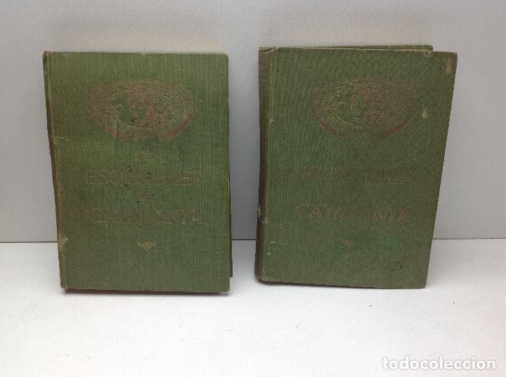 LES ESCUADRES DE CATALUNYA - MOSSOS D'ESCUADRA - POLICIA DE CATALUNYA - AÑO 1921 (Libros antiguos (hasta 1936), raros y curiosos - Historia Antigua)