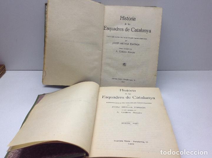 Libros antiguos: LES ESCUADRES DE CATALUNYA - MOSSOS DESCUADRA - POLICIA DE CATALUNYA - AÑO 1921 - Foto 4 - 147205926
