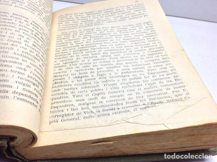 Libros antiguos: LES ESCUADRES DE CATALUNYA - MOSSOS DESCUADRA - POLICIA DE CATALUNYA - AÑO 1921 - Foto 6 - 147205926