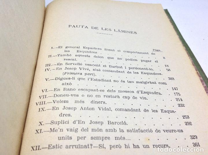 Libros antiguos: LES ESCUADRES DE CATALUNYA - MOSSOS DESCUADRA - POLICIA DE CATALUNYA - AÑO 1921 - Foto 10 - 147205926
