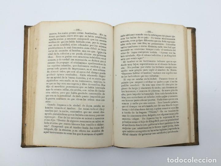 Libros antiguos: Impresiones de un viaje Fernando Poo Guinea + constitución Cuba 1869 - Foto 4 - 146944030