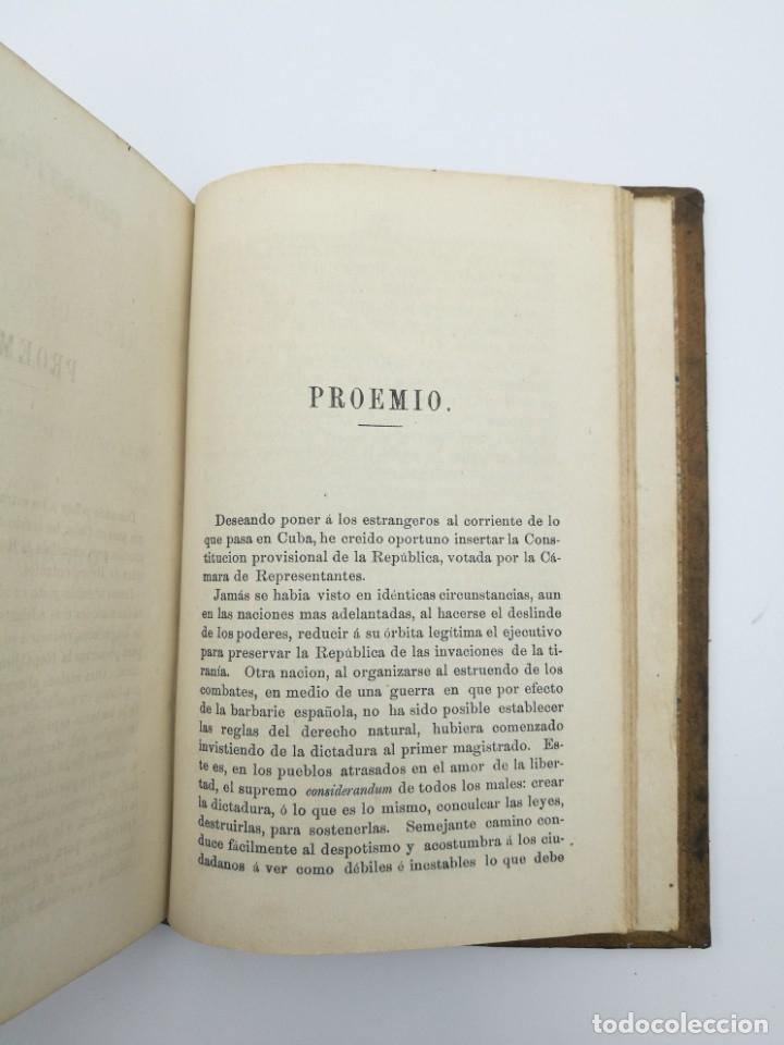 Libros antiguos: Impresiones de un viaje Fernando Poo Guinea + constitución Cuba 1869 - Foto 5 - 146944030