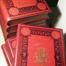 Libros antiguos: MORAYTA, MIGUEL - HISTORIA GENERAL DE ESPAÑA (TOMOS I A VII) - MADRID 1886-1896 - ILUSTRADOS. Lote 147287406