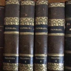 Alte Bücher - Historia de inglaterra. 4 tomos . 1844. Panorama universal - 147348402