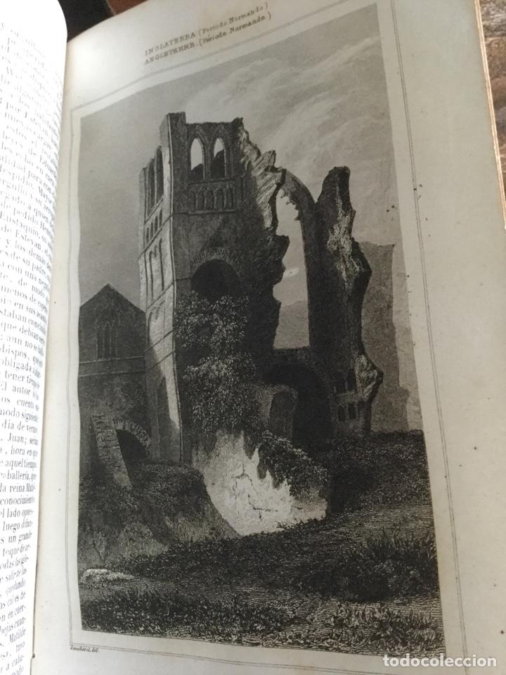 Libros antiguos: Historia de inglaterra. 4 tomos . 1844. Panorama universal - Foto 8 - 147348402