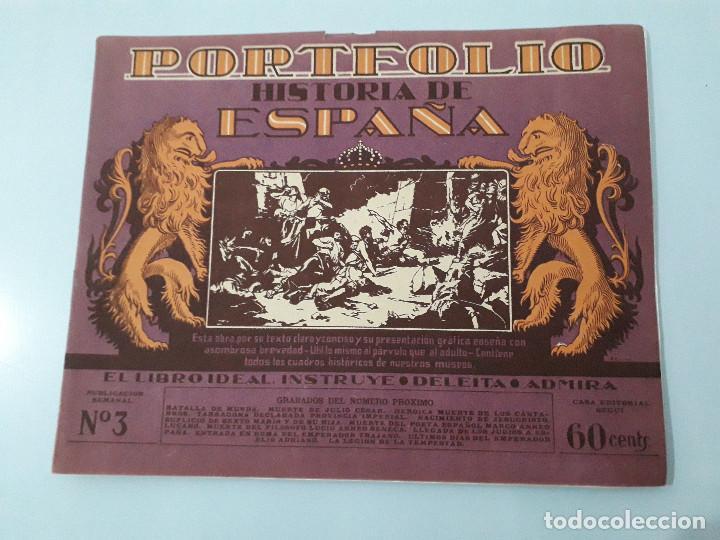 PORTOFOLIO HISTORIA DE ESPAÑA 3 SEGUI (Libros antiguos (hasta 1936), raros y curiosos - Historia Antigua)