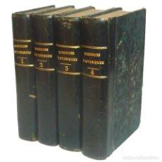 Alte Bücher - 1834 - Caída del Imperio Romano, Cristianismo, Invasiones Bárbaras - Chateaubriand - Obra Completa - 147454858