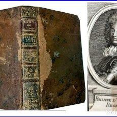 Libros antiguos: AÑO 1746: HISTORIA DEL REINADO DE LUIS XIV, CON BONITA ILUSTRACIÓN DE FELIPE DE ORLEANS.SIGLO XVIII.. Lote 147498078