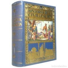 Libros antiguos: 1935 - HISTORIA ILUSTRADA DE LA CIVILIZACIÓN. EGIPTO, GRECIA, ROMA. GRABADOS, MAPAS, +1000 PÁGINAS!. Lote 147532458
