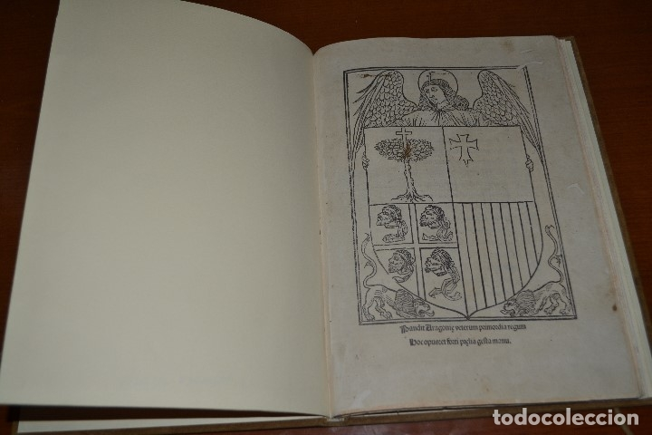 Libros antiguos: Post incunable (Zaragoza, 1509). Pandit Aragoniae veterum primordia regum... - Foto 1 - 147755606