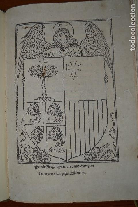 Libros antiguos: Post incunable (Zaragoza, 1509). Pandit Aragoniae veterum primordia regum... - Foto 2 - 147755606