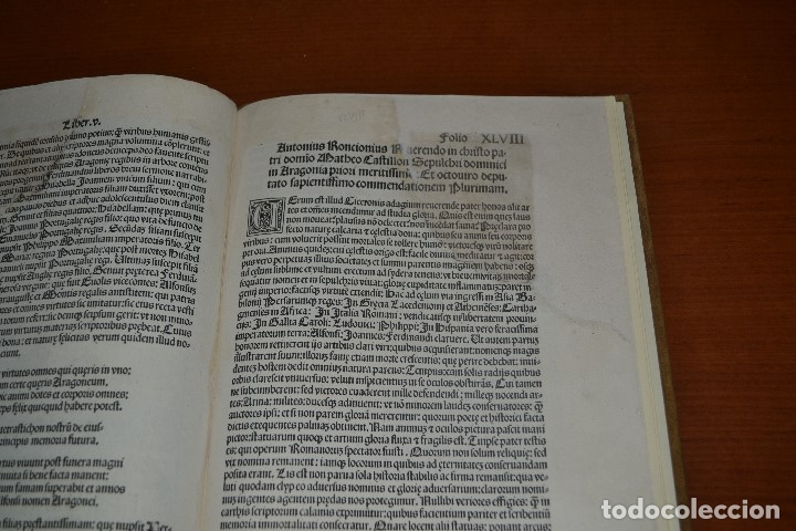 Libros antiguos: Post incunable (Zaragoza, 1509). Pandit Aragoniae veterum primordia regum... - Foto 22 - 147755606