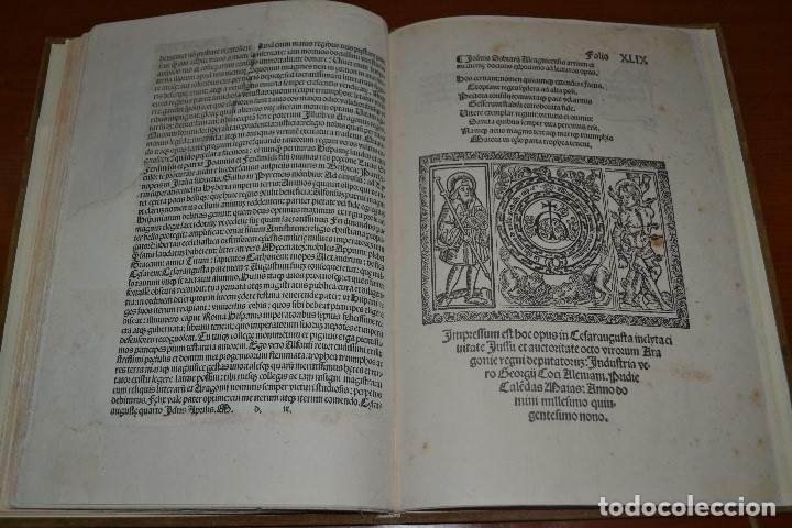 Libros antiguos: Post incunable (Zaragoza, 1509). Pandit Aragoniae veterum primordia regum... - Foto 23 - 147755606
