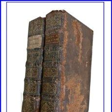 Libros antiguos: AÑO 1714: LA HISTORIA PROFANA. ALEJANDRO MAGNO, CESAR AUGUSTO. 2 TOMOS DE PRINCIPIOS DEL SIGLO XVIII. Lote 147939242