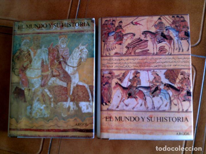 LOTE DE LIBROS DE ARGOS LA EDAD MEDIA TOMO 3 Y 4 TODA LA EDAD MEDIA EN ESTOS TOMOS (Libros antiguos (hasta 1936), raros y curiosos - Historia Antigua)