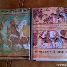 Libros antiguos: LOTE DE LIBROS DE ARGOS LA EDAD MEDIA TOMO 3 Y 4 TODA LA EDAD MEDIA EN ESTOS TOMOS. Lote 148444778