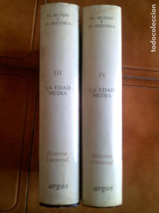 Libros antiguos: LOTE DE LIBROS DE ARGOS LA EDAD MEDIA TOMO 3 Y 4 TODA LA EDAD MEDIA EN ESTOS TOMOS - Foto 2 - 148444778