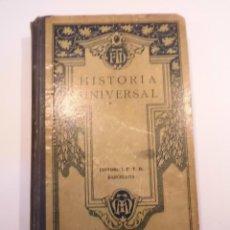 Libros antiguos: HISTORIA UNIVERSAL - F.T.D. - 1928. Lote 148680954