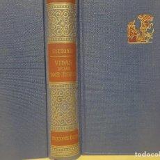 Libros antiguos: CLÁSSICOS JACKSON - SUETONIO - VIDA DE LOS 12 CÉSARES - ED. ÉXITO - AÑO 1951. Lote 148705326