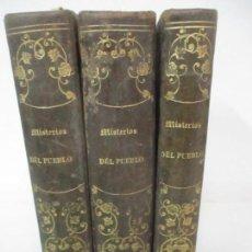 Libros antiguos: LOS MISTERIOS DEL PUEBLO ESPAÑOL, DURANTE VEINTE SIGLOS - 3 TOMOS - AÑO 1868. Lote 148724182