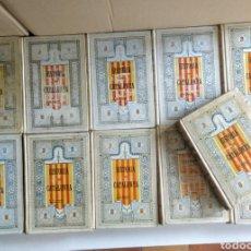 Libros antiguos: 11 LIBROS. HISTÒRIA CRÍTICA CIVIL Y ECLESIÁSTICA DE CATALUNYA.. Lote 148780462
