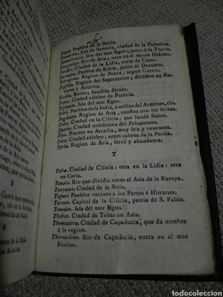 Libros antiguos: DE REBUS GESTIS ALEXANDRI MAGNI. ALEJANDRO MAGNO 1828, DE QUINTO CURCIO RUFO. - Foto 4 - 149265121