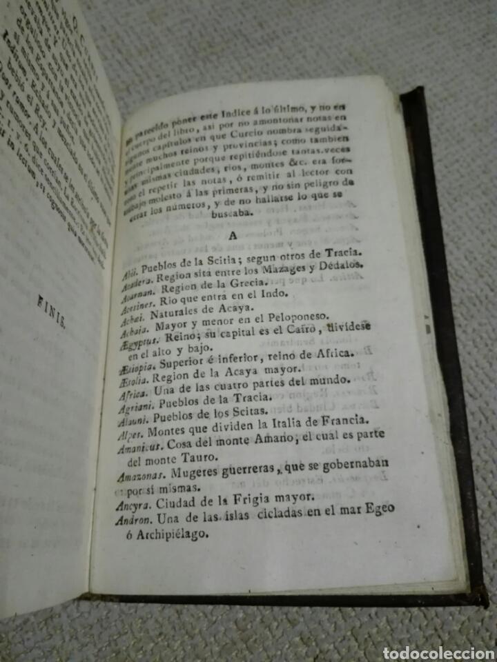 Libros antiguos: DE REBUS GESTIS ALEXANDRI MAGNI. ALEJANDRO MAGNO 1828, DE QUINTO CURCIO RUFO. - Foto 5 - 149265121